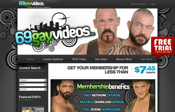 69 Gay Videos Premium Pass