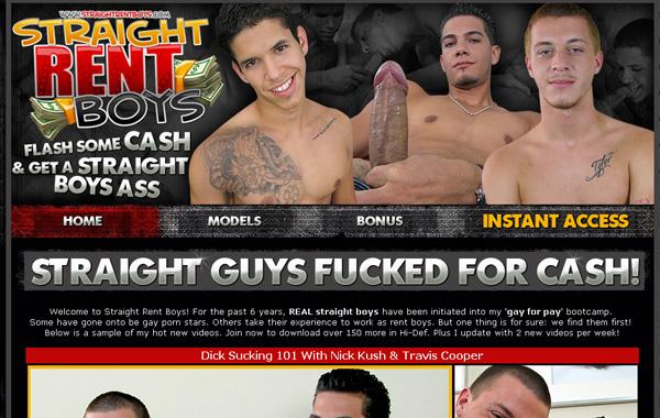 Free Straight Rent Boys Account