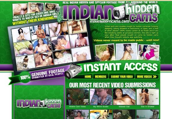 Indianhiddencams.com Website Accounts