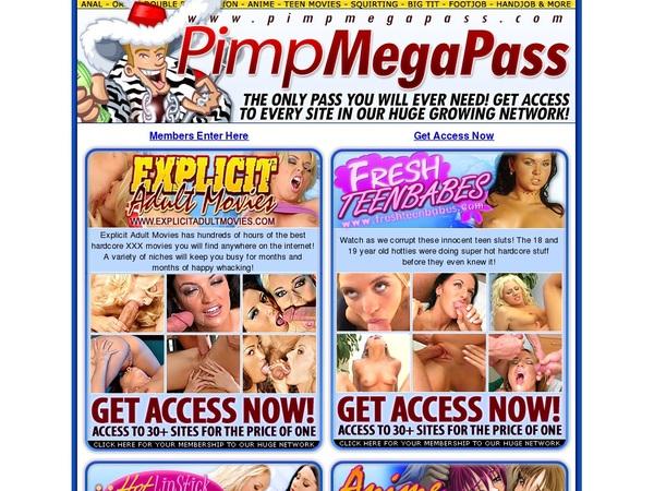 Logins For Pimpmegapass.com