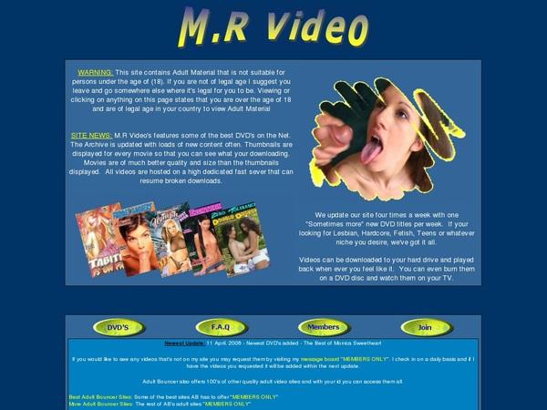 Mrvideo.adultbouncer.com Cc Bill