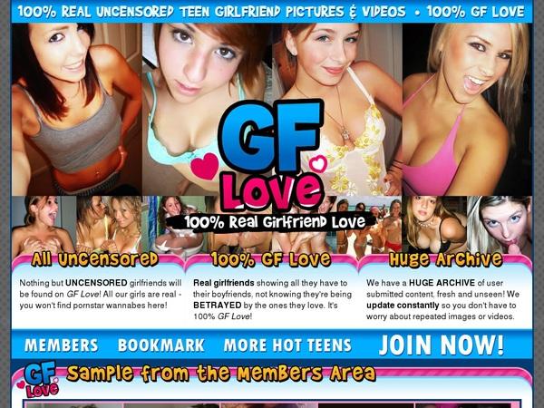 New Free Gflove.com Account