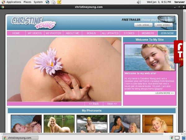 Passwords To Christineyoung.com