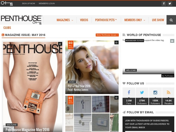 Penthouse Free Accounts And Passwords