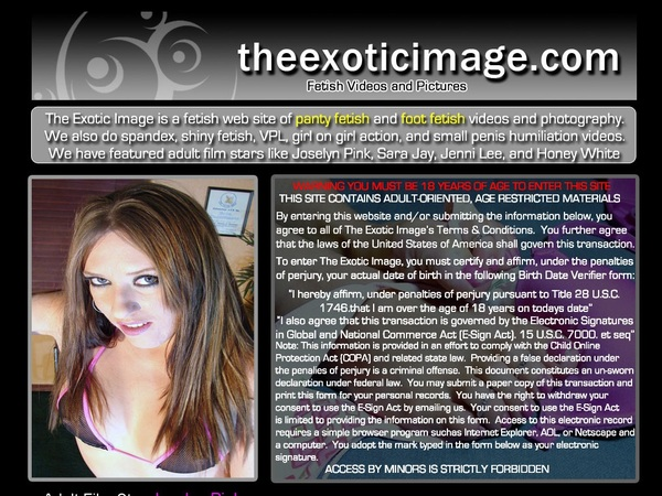 Theexoticimage With SEPA