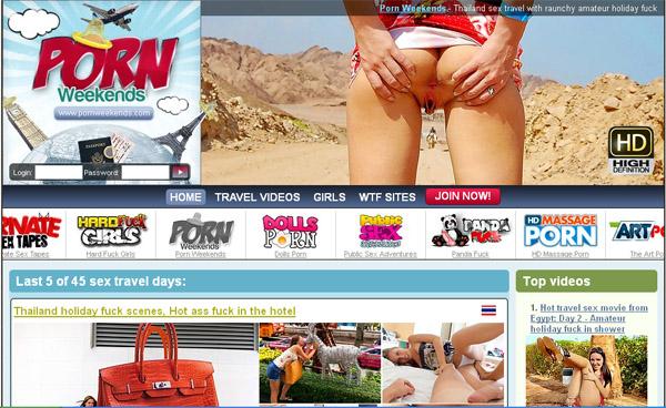 Www Pornweekends.com