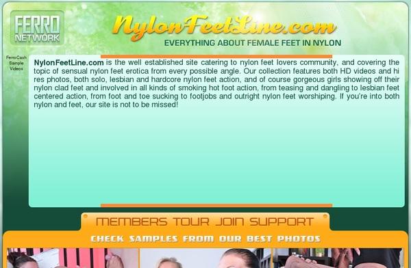 Nylonfeetline.com Paysafecard