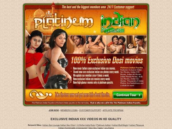 Sign Up For Platinumindian.com