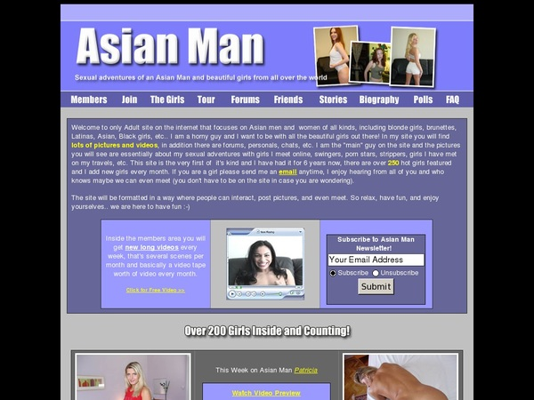 Password For Asian-man.com